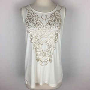 NWT Chico's Golden V Tank size 3